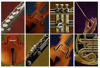 Interactive matching game: Musicians and their instruments