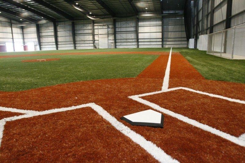 Hitters sportsplex to replace indoor baseball field with for Design indoor baseball facility