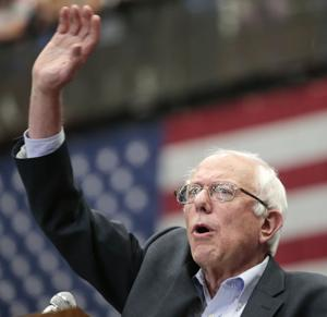 Photos: Presidential candidate Bernie Sanders in Madison