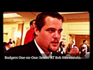 Badgers One-on-One: Senior tackle Rob Havenstein likes UW's experience on the line