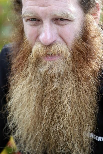 Beard competitor Walter Cnare