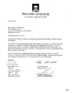 Republican Assembly Leaders Demand Rep Bill Kramer Resign