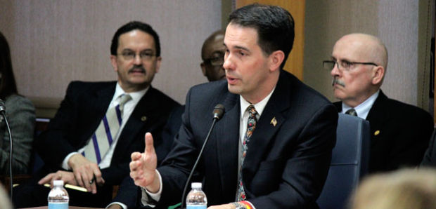 Gov. Walker supports nontraditional learning, investment in higher education