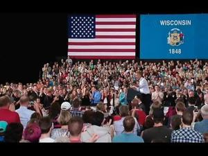 Video: Obama speaks on the economy in La Crosse