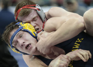 Photos: WIAA wrestling semifinals
