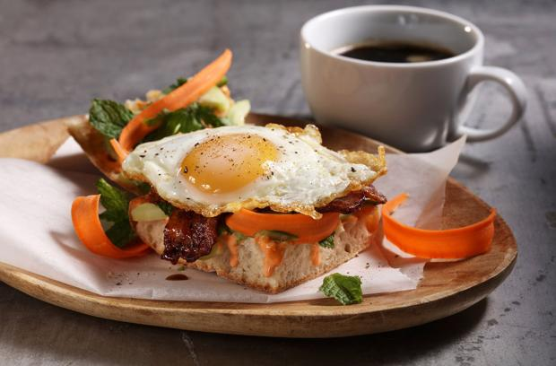 Banh mi breakfast sandwich perks up your morning | Food & Cooking ...