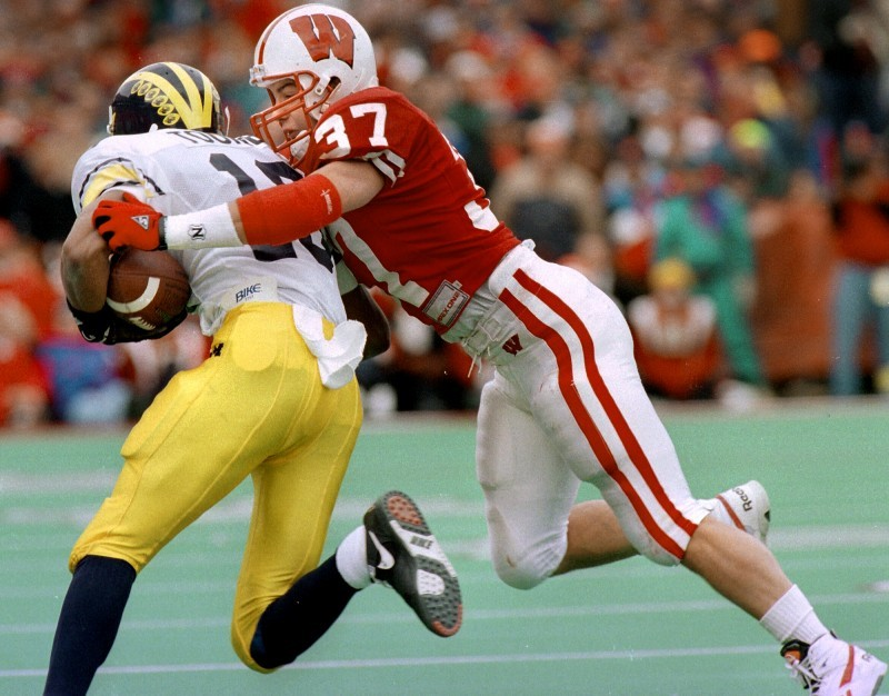 Scott Nelson, Badgers vs. Michigan 1993