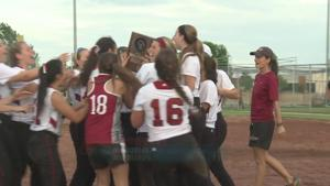 Middleton Softball Cruises to Sectionals with 11-1 Win
