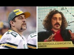 Video: Aaron Rodgers meets Tom Wrigglesworth