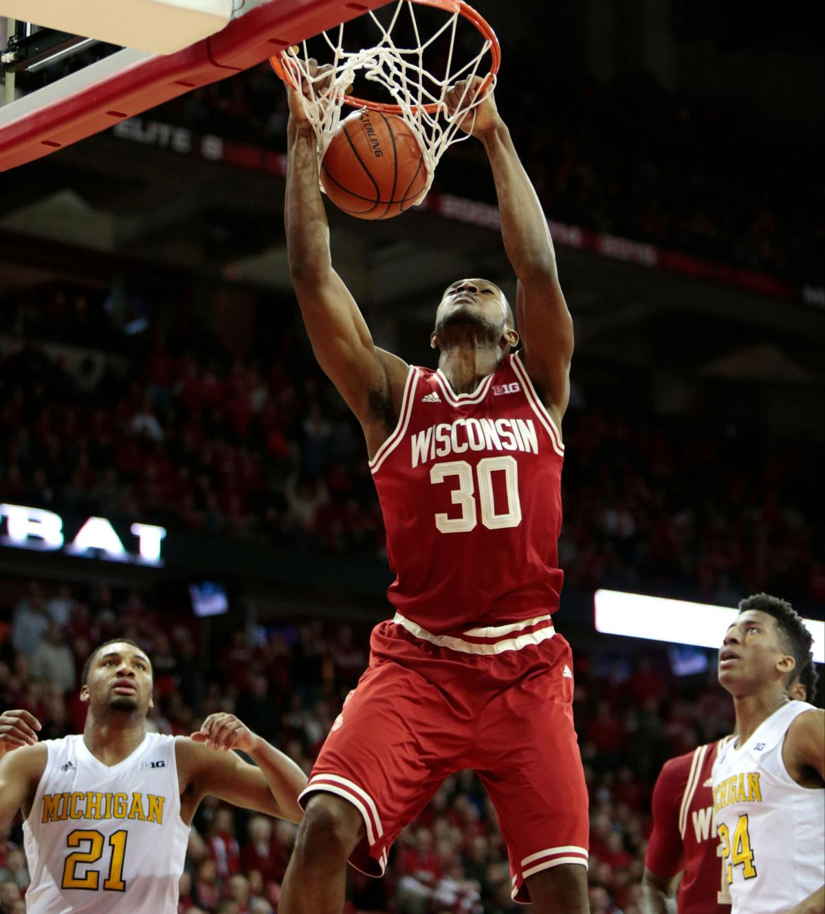 Badgers men's basketball: Wisconsin pulls away for 68-57 win over Michigan at home   Wisconsin ...
