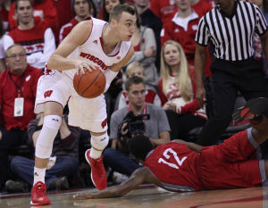 Photos: Badgers lower boom on Nicholls State