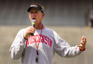 Badgers football: After year of change, Gary Andersen finds comfort zone