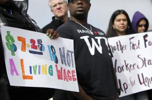 Photos: Low-wage protest planned for April 15
