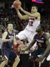Traevon Jackson, Badgers men's basketball vs. Virginia