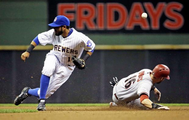 Brewers: Diamondbacks score twice in ninth, win series opener