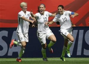 Photos: U.S. rolls to victory in Women's World Cup finale