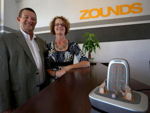 Mark Haas, Joan Haas, Zounds Hearing, Madison,  Hearing Aids