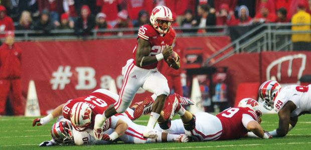 Badgers rout Falcons en route to 68-17 victory