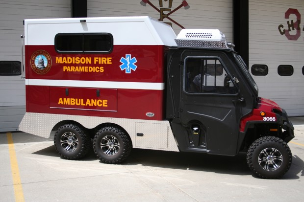 Used Cars For Sale In Chicago >> New mini-ambulance making debut at Rhythm and Booms : Madisondotcom