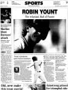 Pages from history July 25, 1999