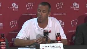 Todd Oehrlein Weekly Press Conference 04/20/2015