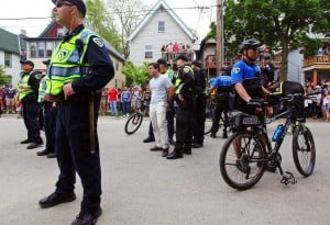 Crowd smaller at Mifflin Street Block Party but arrests up
