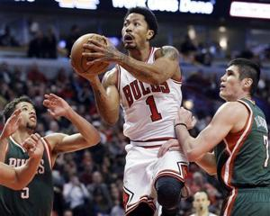 Video: Derrick Rose leads Bulls over Bucks in playoff opener
