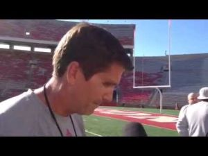 Video: Badgers OC Andy Ludwig examines UW's quarterback situation
