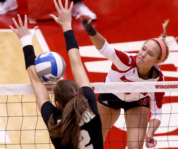 Badgers volleyball: UW clinches Big Ten Conference title outright with sweep of Purdue