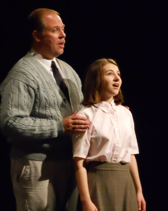 Anne frank musical treads lightly with the famous diary for Anne frank musical