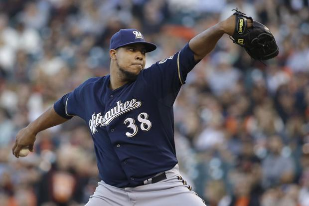 Brewers: Wily Peralta sharp in victory over Giants