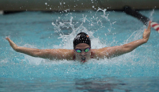 Wiaa State Girls Swimming Verona Mount Horeb 39 S Beata Nelson Is A Superstar Of A Team Player