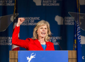 Mary Burke makes state history as first female major party gubernatorial nominee
