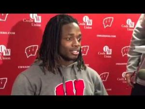 Video: Badgers TB Melvin Gordon at a loss for words after hearing plans for changes to Axe celebration