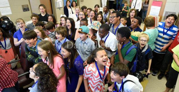 Students, teachers close doors on 2014-15
