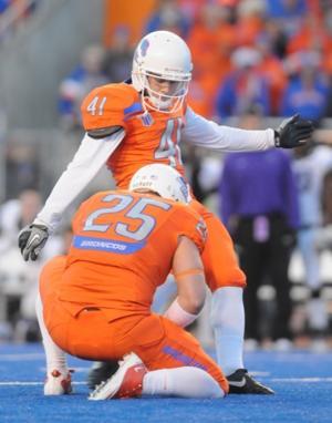 Boise State kicker Dan Goodale