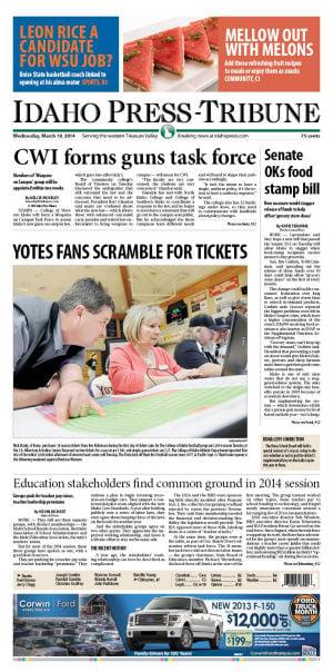 Kramer remembers gridiron life - Idaho Press-Tribune: Cavalcade