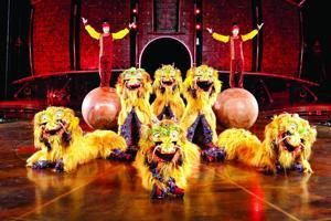 Cirque du Soleil Dralion