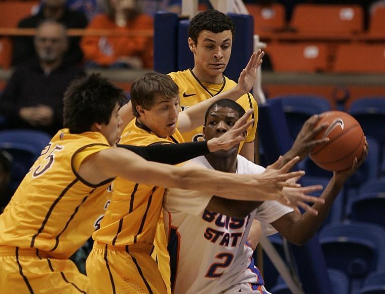 Boise State-Wyoming basketball