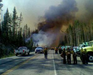 Bench Creek Fire