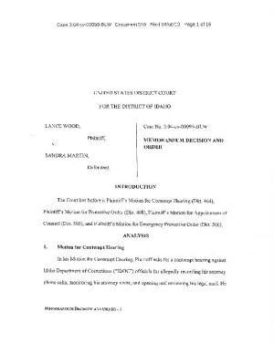 McKenzie ruling