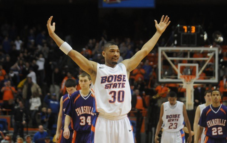 Boise State guard Westly Perryman