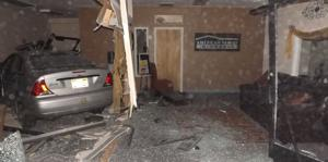 Vehicle crashes into Caldwell insurance office
