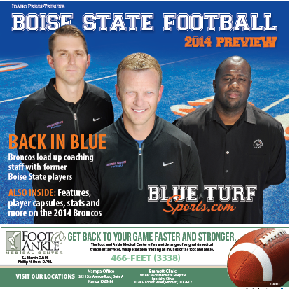 2014 BSU Football Preview Cover