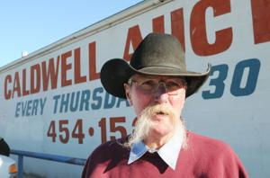 <p>Wes Downs, owner of Caldwell Auction for 33 years.</p>