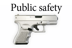 Top story public safety gun