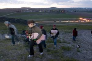 Lizard Butte Sunrise Service