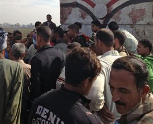 Egyptian train hits school bus, 49 children killed