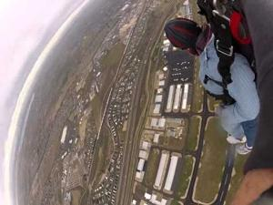 VIDEO: 80th Birthday Skydive