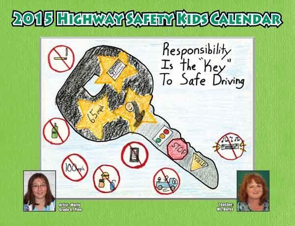 Kids Safety Calendar : New highway safety kids calendar honors nampa teacher